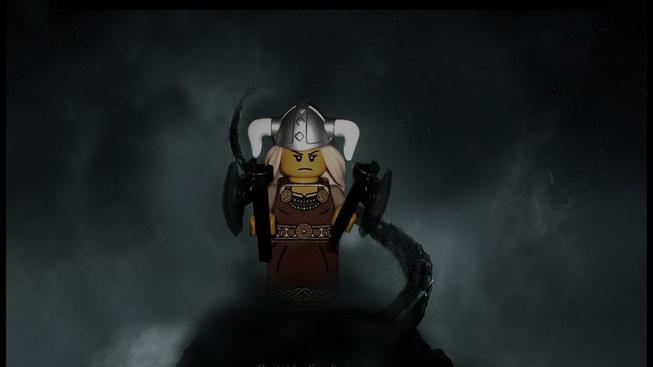 Jak by vypadal LEGO Skyrim a další