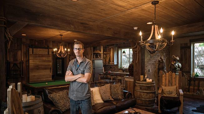 Chlápek utratil přes milion, aby jeho dům vypadal jak ze Skyrim