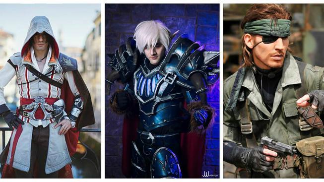 Tři muži, jenž vévodí světové cosplay scéně