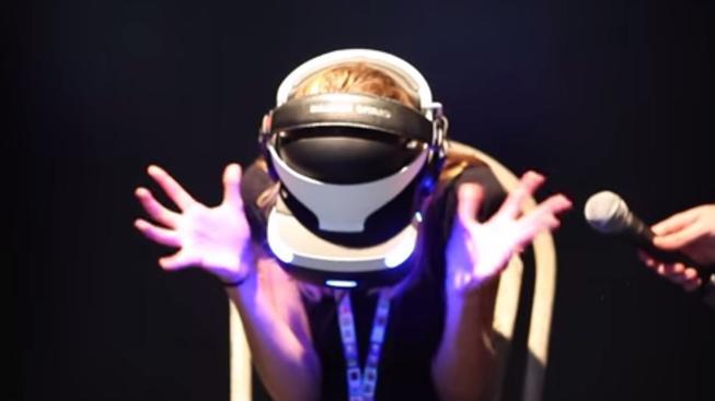 Virtuální realita umí být pěkně děsivá