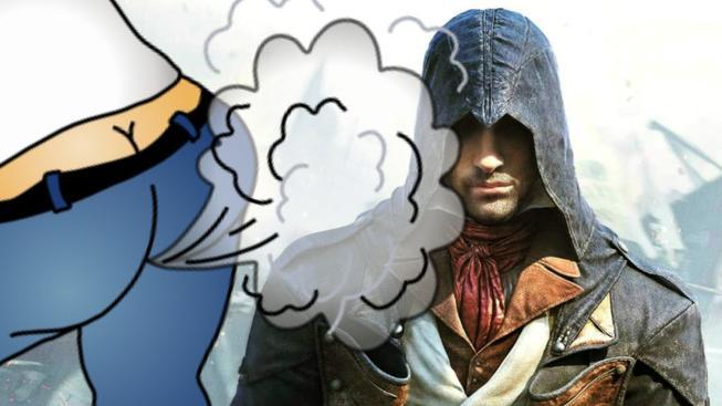 Prdící asasín a jiné easter eggy z Assassin's Creed