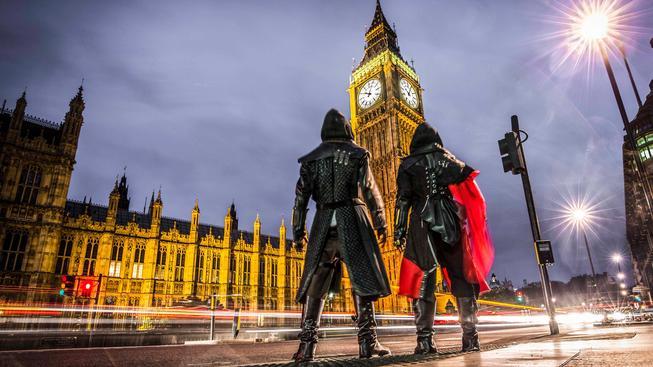 Assassin's Creed: Syndicate parkour naživo přímo v Londýně