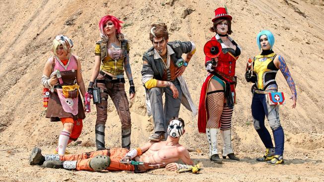 borderlands český cosplay