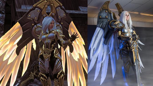 Sobotní cosplay: epický cosplay Uriel z Darksiders II