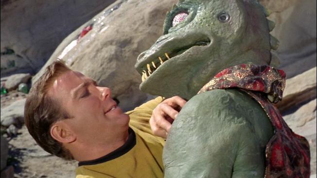 Galerie nejlepších chmatů a hmatů Jamese T. Kirka - Pozor! Nebezpečně vtipné!