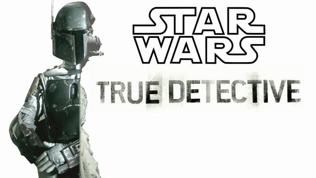 Úvodní intro ke Star Wars ve stylu True Detective