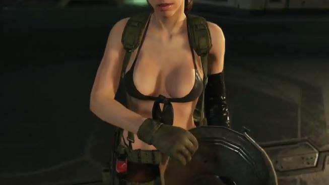 Jak vypadá nejvíc sexy scéna z Metal Gear Solid?