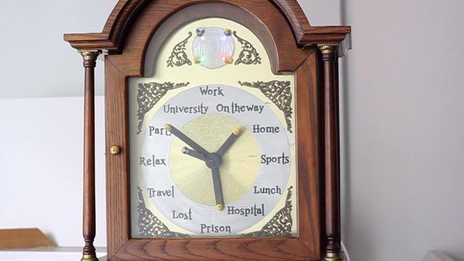 Kouzelné hodiny z Harryho Pottera, které skutečně fungují