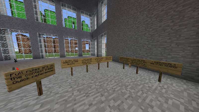 Minecraft dům