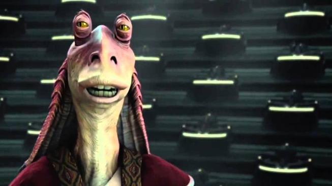 Trailer ke Star Wars: Síla se probouzí s Jar Jar Binksem je tak stupidní, až je naprosto boží