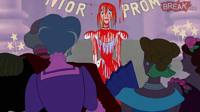 Disney princezny jako postavy z hororů