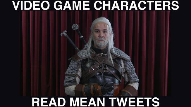 Videoherní postavy čtou zlé tweety