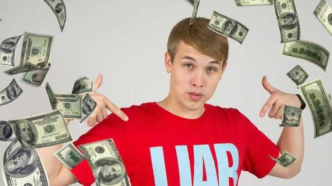 Jirka Král vybral velký balík peněz!