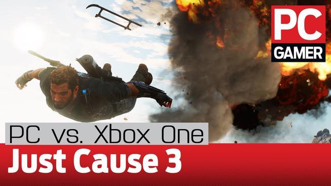 Nejlepší grafické srovnání: Just Cause 3 PC vs Xbox One. To musíte vidět