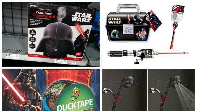 Zboží se Star Wars tématikou, nad kterým si řeknete WTF?!