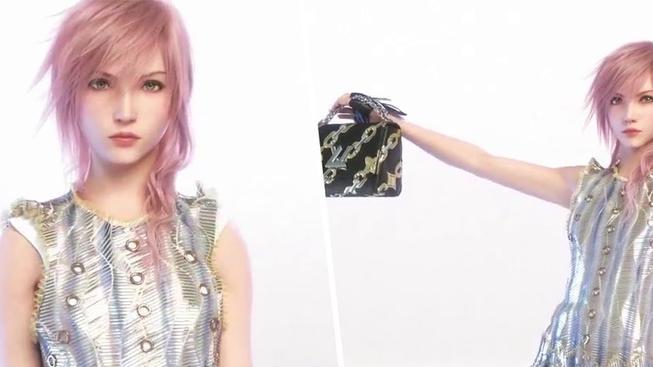 Lightning z Final Fantasy dělá modelku pro Louis Vuitton kabelky – huh, cože?!