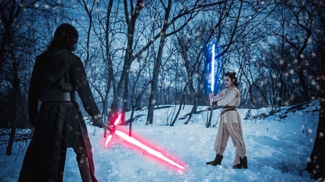 Naprosto skvělý cosplay k filmu Star Wars: The Force Awakens