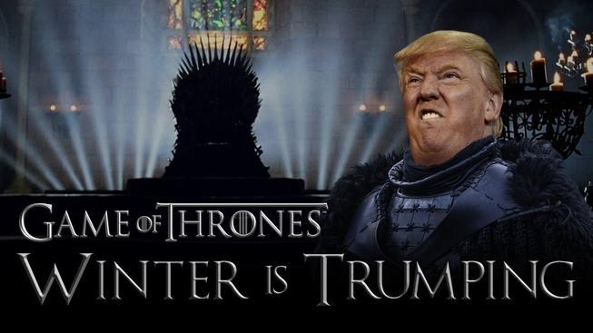 """""""Musíme postavit zeď a musíme ji postavit rychle!"""" - Donald Trump zapadá do světa Hry o trůny dokonale!"""