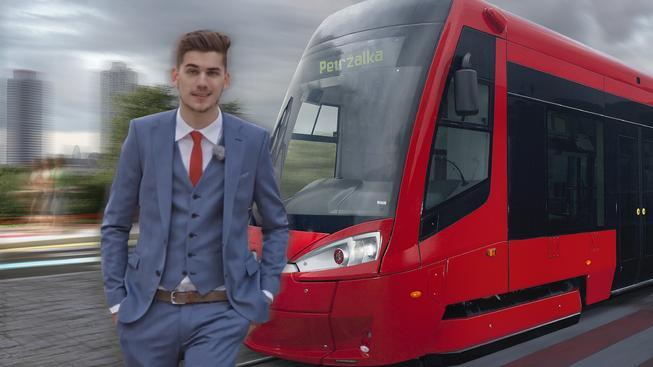 Slavného GoGa přejela tramvaj! Pozor: jen pro silné povahy!