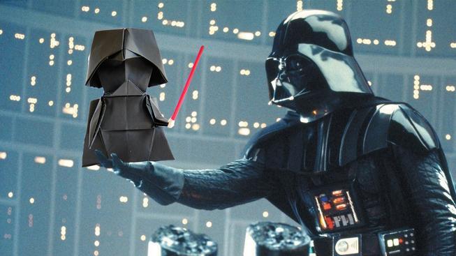 Mistr Yoda nebo Darth Vader? Vyrobte si jednoduše postavičky ze Star Wars pomocí papíru!