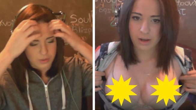 Twitch komunita zuří: Streamerka ukazovala prsa, vybudovala si popularitu a nyní s tím přestala.