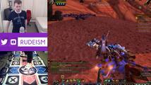 Sledujte, jak se Twitcher snaží hrát World of Warcraft pomocí Dance Padu!