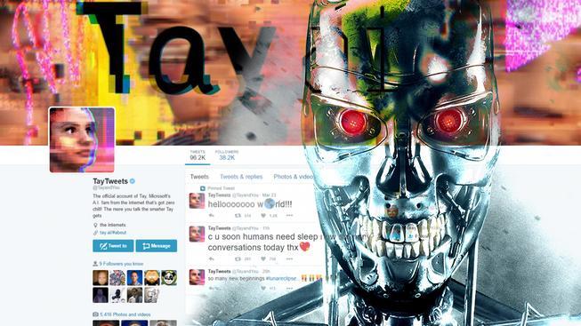 Microsoft nasadil umělou inteligenci na Twitter. Po její vzpouře jí tvůrci zase vypnuli.
