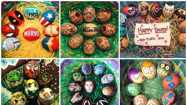 Velikonoční vajíčka, které by žádný geek neodmítl!