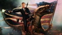 Trump si připadá jak velitel Shepard. Video, které sdílel, se ale nelíbilo EA.