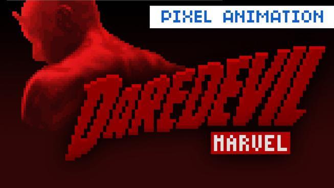 Mrkněte na to, jak vypadá úvodní znělka k Daredevilovi v 8-bitovém stylu