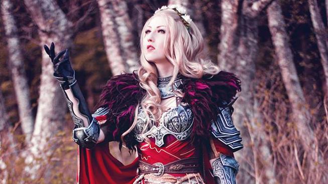 Ženská variace na Cullena z Dragon Age je fantastická
