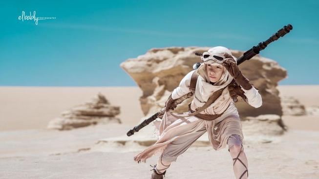 Pro nafocení tohoto cosplay se umělci vydali až do Egypta