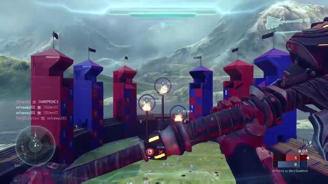 Zahrajte si famfrpál v Halo 5