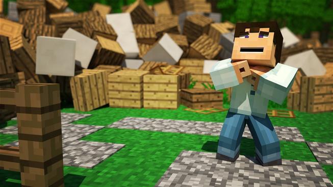 Podívejte se jak by dopadla hra Minecraft s reálnou gravitací