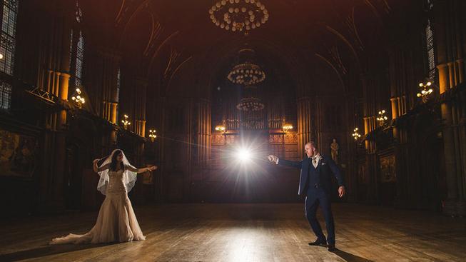 Nejepičtější svatba ve stylu Harryho Pottera!