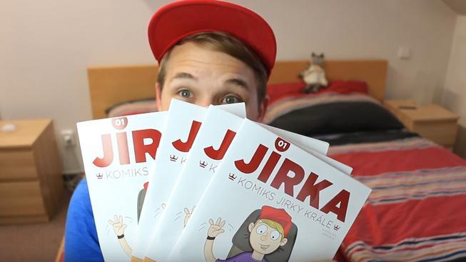 Sláva YouTuberů se rozšiřuje, Jirka Král vydává vlastní komiks.