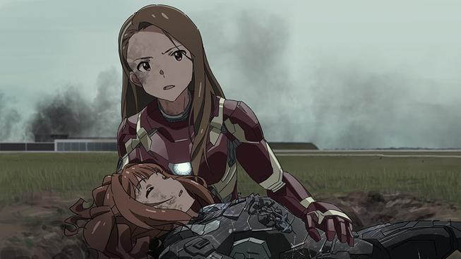 Avengers jako animované školačky? Neodolatelně roztomilé!