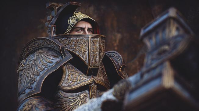 Máte rádi Warhammer 40k? Tak v tom případě si z tohoto cosplaye sednete na zadek!