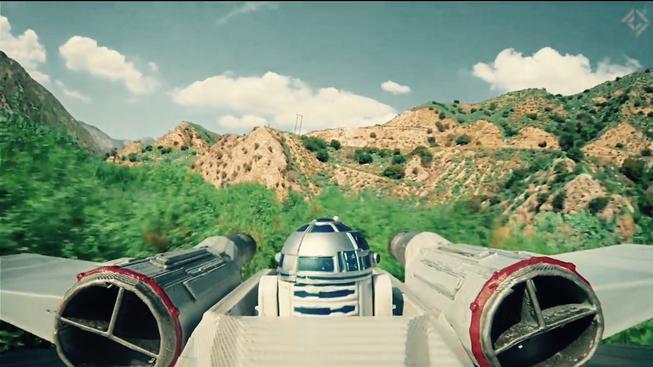 Epický souboj Star Wars dronů je ukázka pilotního umění