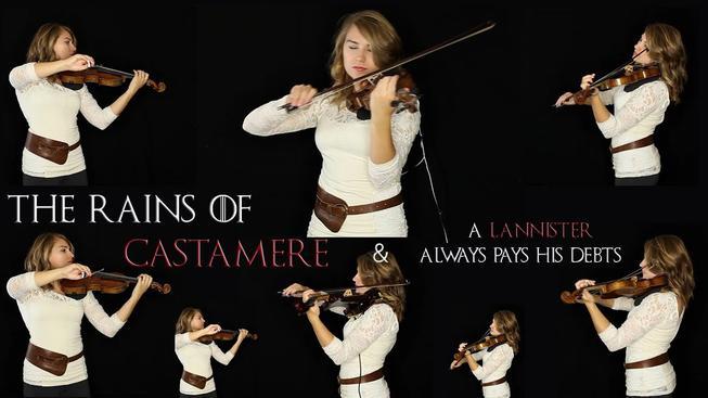 Úžasný houslový cover The Rains of Castamere, který budete chtít poslouchat pořád dokola