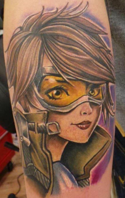 Overwatch tattoo