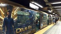 New Yorkem se prohání vlak s motivem Deus Ex: Mankind Divided