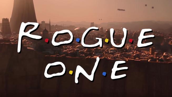 Trailer na Rogue One sedí se znělkou z Přátel dokonale
