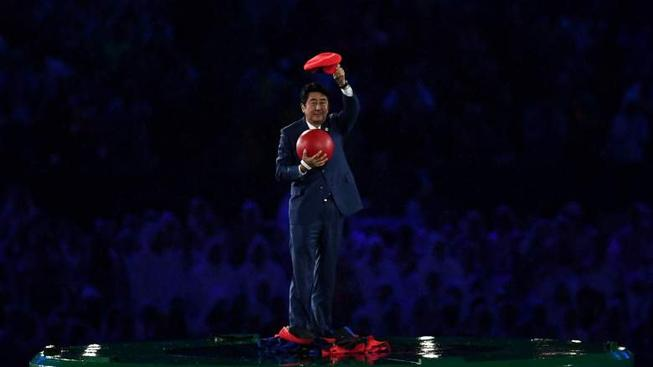 Proč ukončoval Super Mario Letní olympijské hry v Riu?