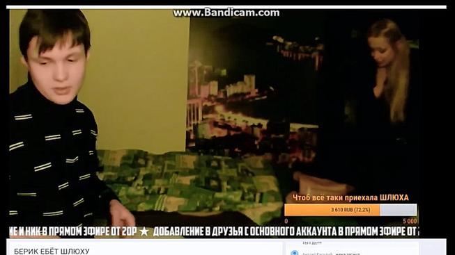V Rusku si streamer pozval prostitutku a vyspal se s ní před svými diváky