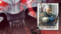 Geralt z Rivie to dotáhl až na poštovní známku!