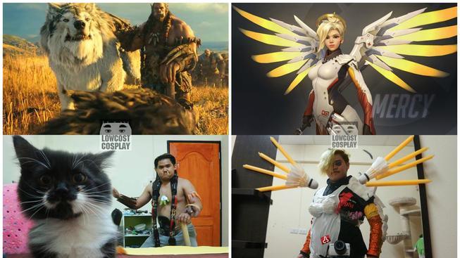 Thajec vyrábí kostýmy ze všeho co najde doma a dobývá svět!