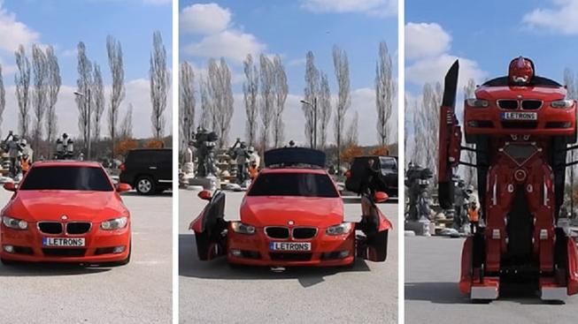 Turci vyrobili prvního funkčního autobota a koupit si jej můžete i vy