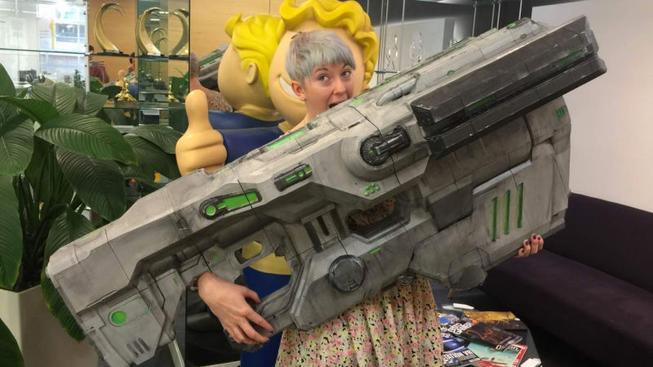 Replika BFG ze hry Doom v životní velikosti je obrovské monstrum, podívejte se sami!