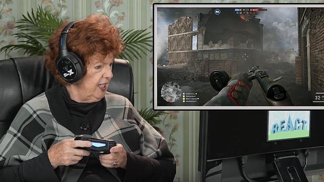 Kdo jiný by si měl zahrát Battlefield 1 než důchodci! Co na to říkají?